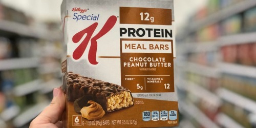 30% Off Kellogg's Special K & KIND Protein Bars on Amazon