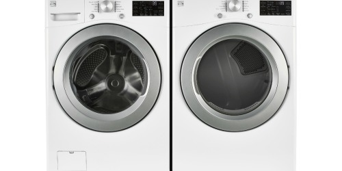 FREE Kenmore Front Load Washer ($1,059 Value) w/ Matching Dryer Purchase at Sears