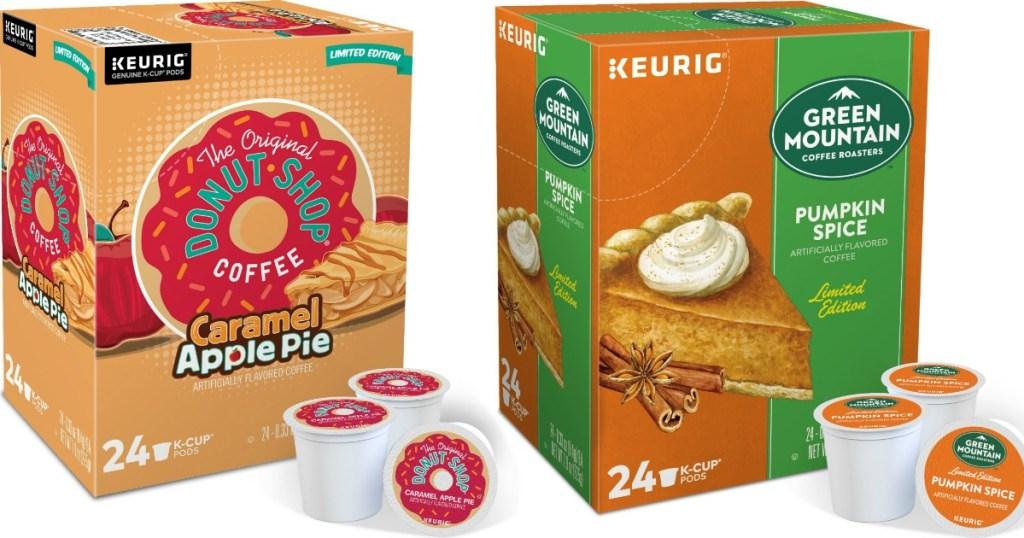 Keurig K-Cups Caramel Apple Pie and Pumpkin Spice