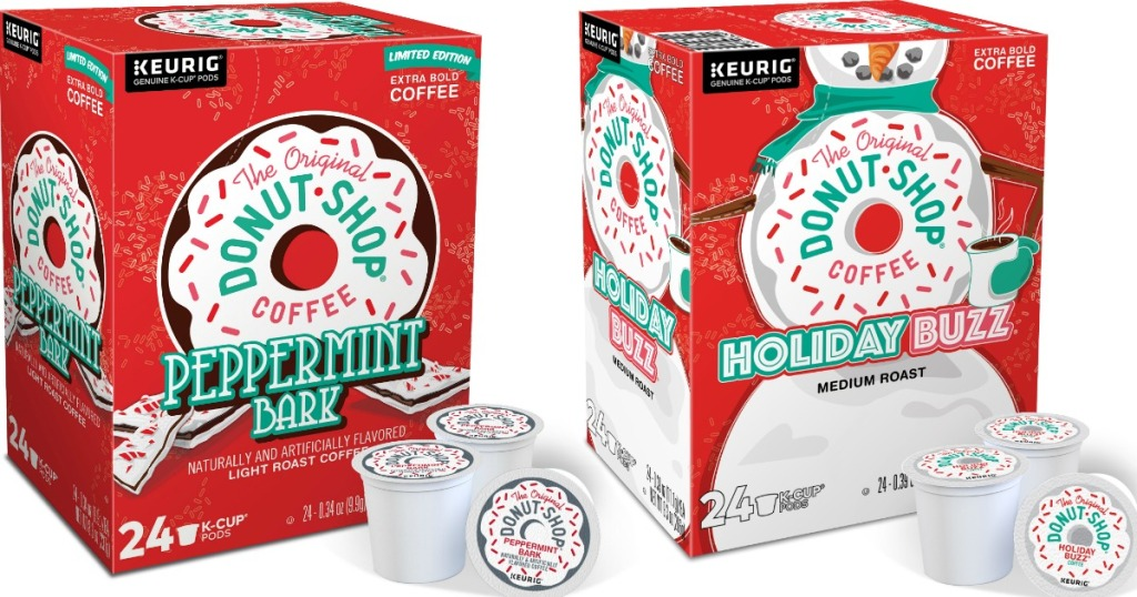 Keurig K-Cups Peppermint Bark and Holiday Buzz