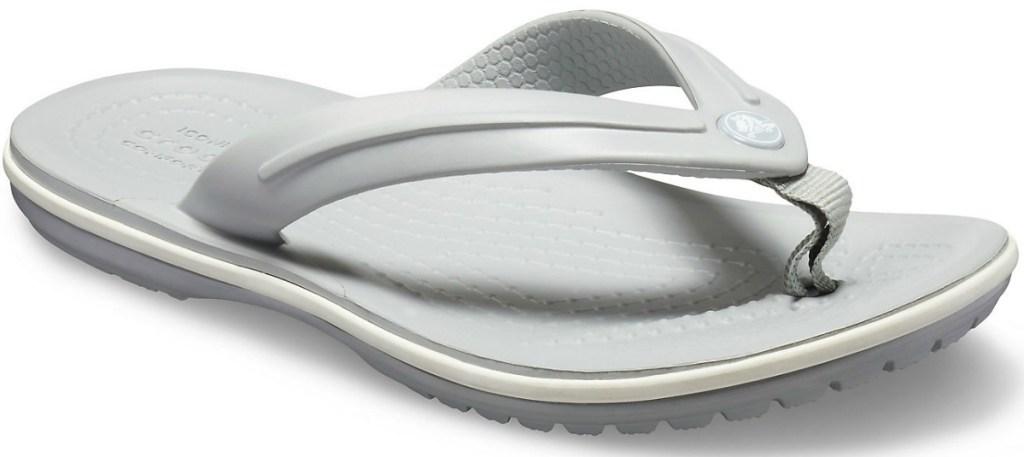 Kids Crocs Flip Flop in gray