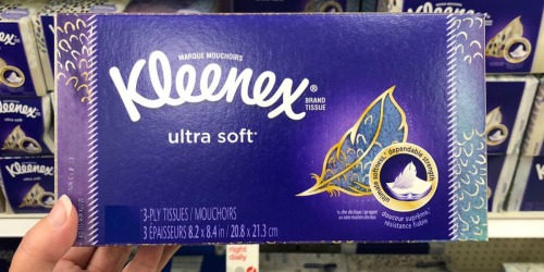 Kleenex Ultra Soft Facial Tissues 4-Pack Only $4 Shipped at Amazon