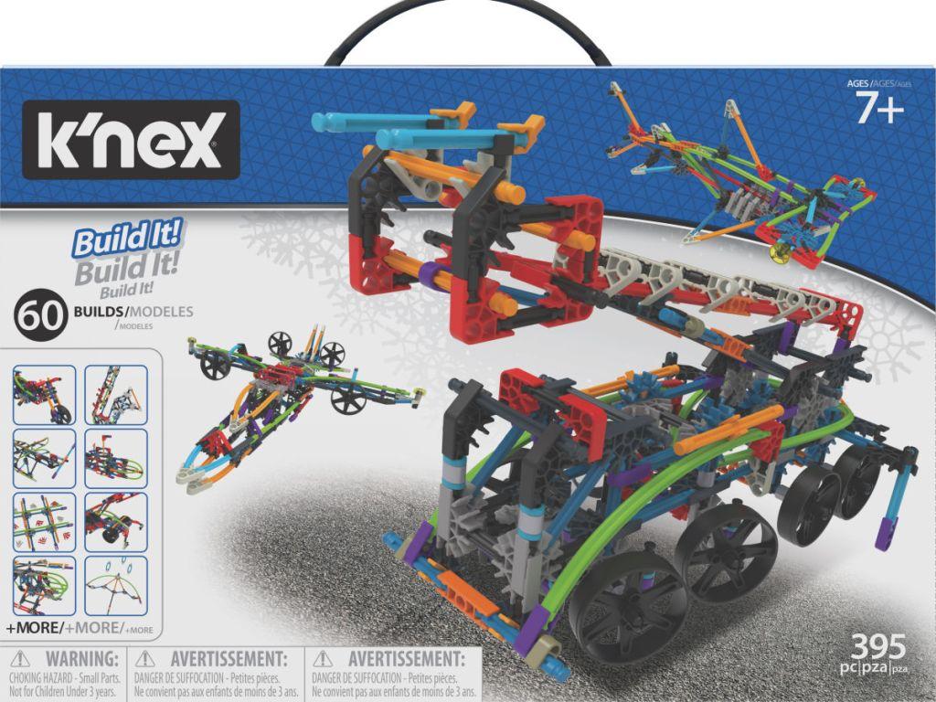 K'nex Intermediate 60 Model Building Set box