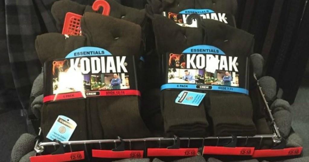 Kodiak Socks in Store Bin