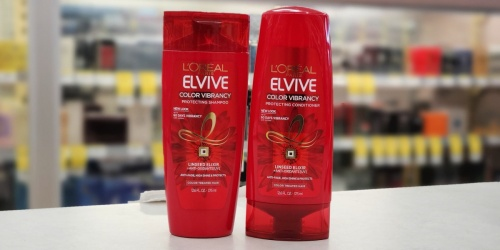 New $3/2 L'Oréal Elvive Coupon = Shampoo & Conditioner Just $1.50 Each at Walgreens