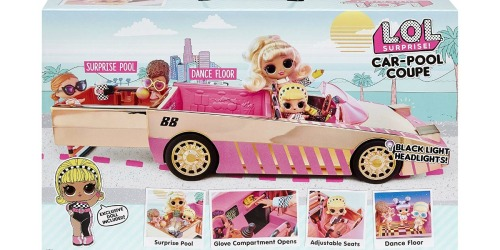 L.O.L. Surprise! Car-Pool Coupe in Stock NOW for Under $30 at Target