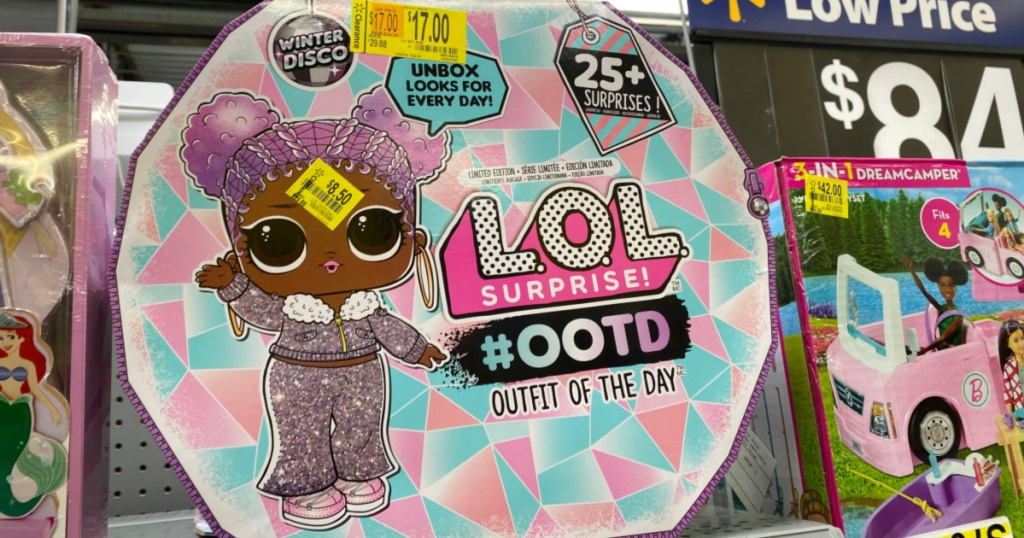 Up To 85 Off Toys At Walmart L O L Surprise Disney Barbie