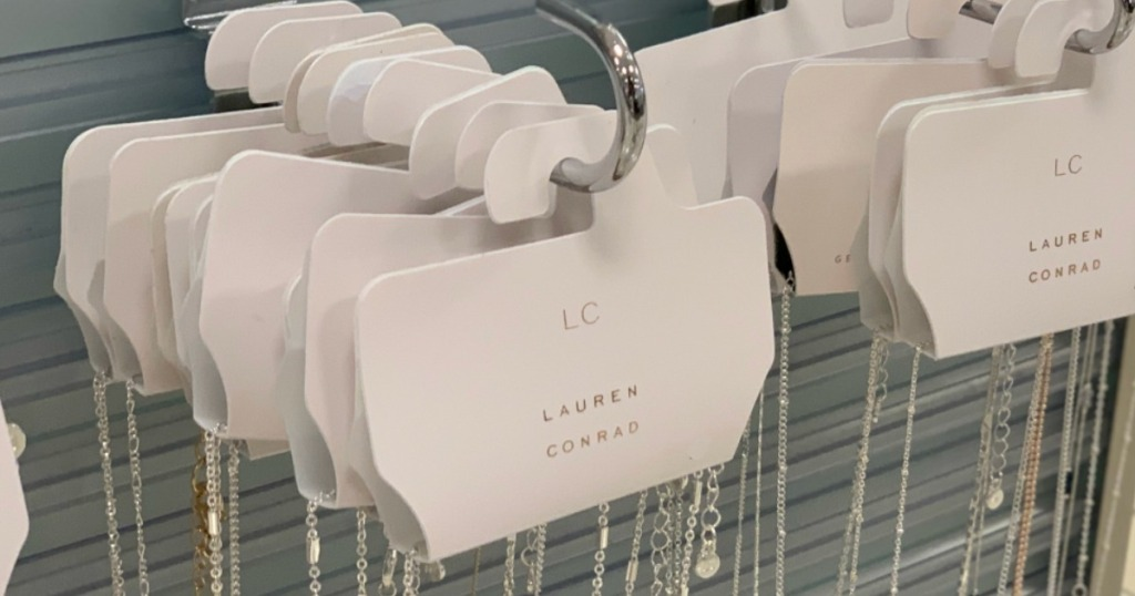 LC Lauren Conrad Necklace on hooks at Kohl's