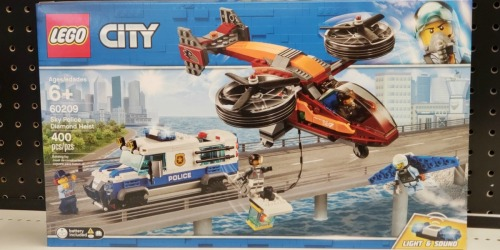 LEGO City Sky Police Diamond Heist Set Only $37.99 Shipped at Walmart (Regularly $60)