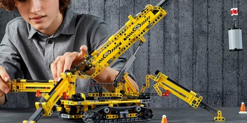 LEGO Technic Compact Crawler Crane 920-Piece Kit Only $79.99 Shipped | Great Reviews