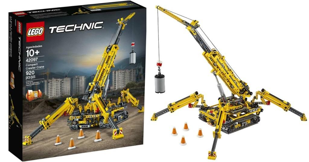 LEGO Technic Compact Crawler Crane and box