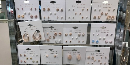 Lauren Conrad Jewelry from $4 Shipped for Kohl's Cardholders | Earrings, Necklaces, & More