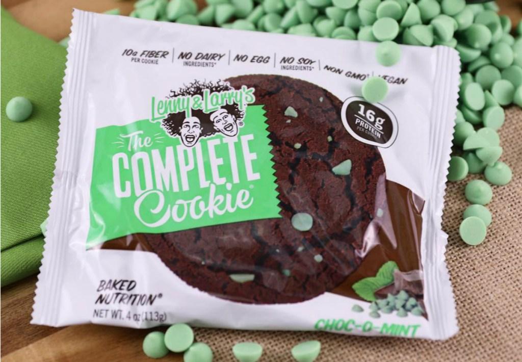 Lenny & Larry's Choc-O-Mint cookies