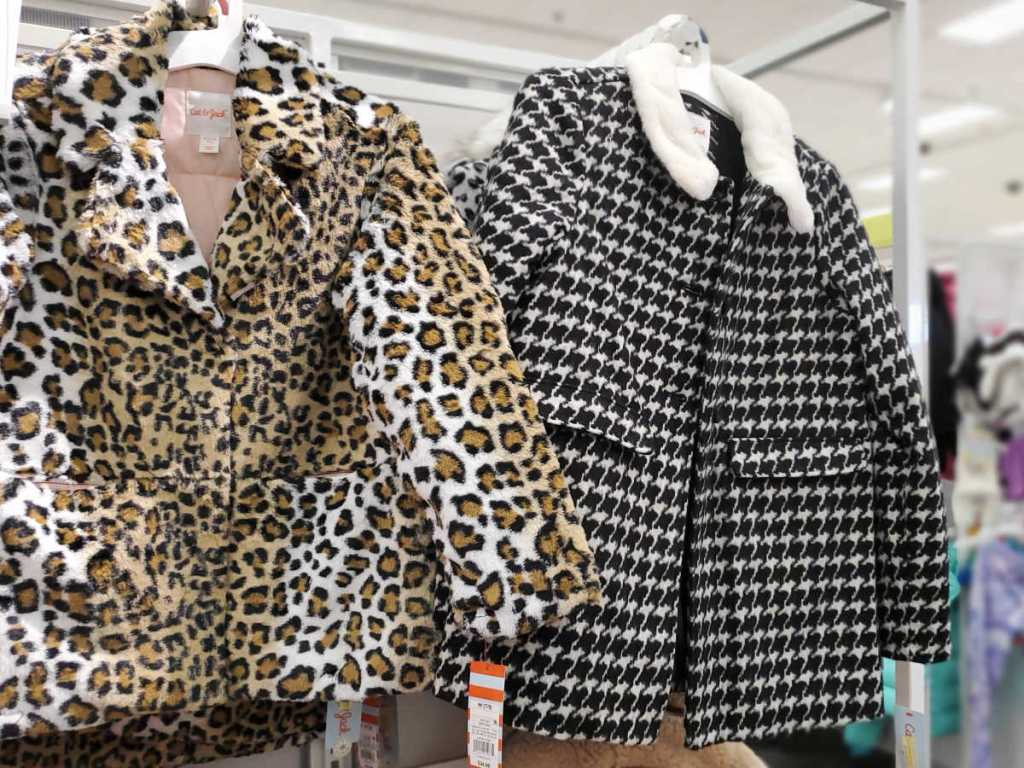 Leopard and Houndstooth Jacket in Target