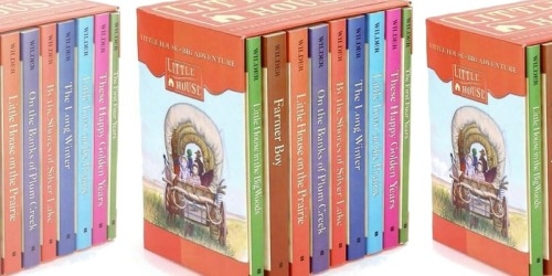 Little House on the Prairie Boxed Set Only $25 Shipped on Amazon | Just $2.79 Per Book
