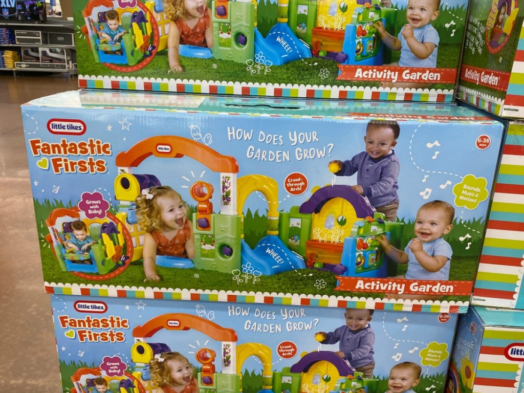 Little Tikes brand playset for kids in box on display in store