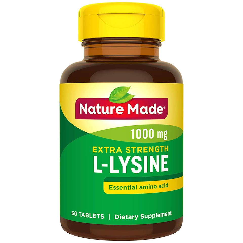 L-Lysine Bottle
