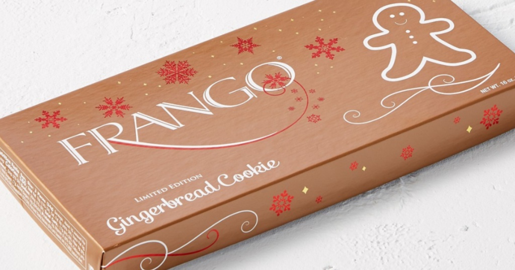 Frango Chocolates Gingerbread Cookies