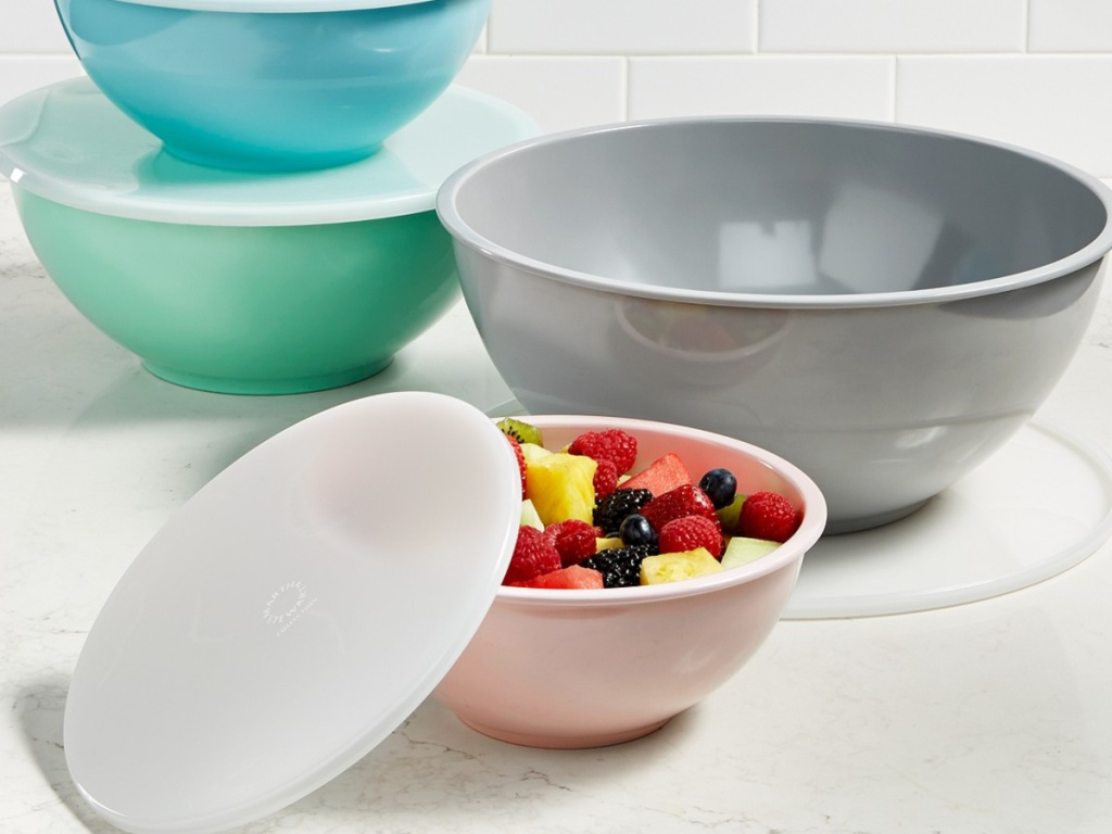 Martha Stewart Melamine Bowl Set at Macy's