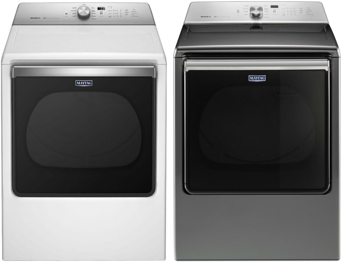 Maytag brand washer and dryer