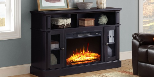 Up to 40% Off Fireplace Media Consoles at Walmart