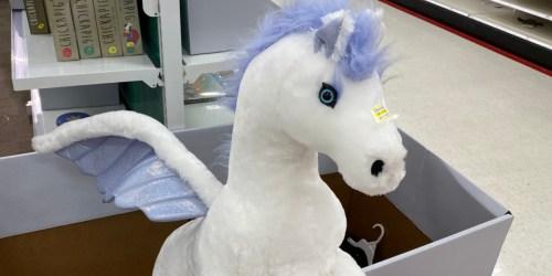 90% Off Melissa & Doug Giant Stuffed Animals at Target | Pegasus, Sloth & More