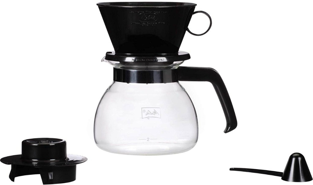 Coffee brewer with accessories