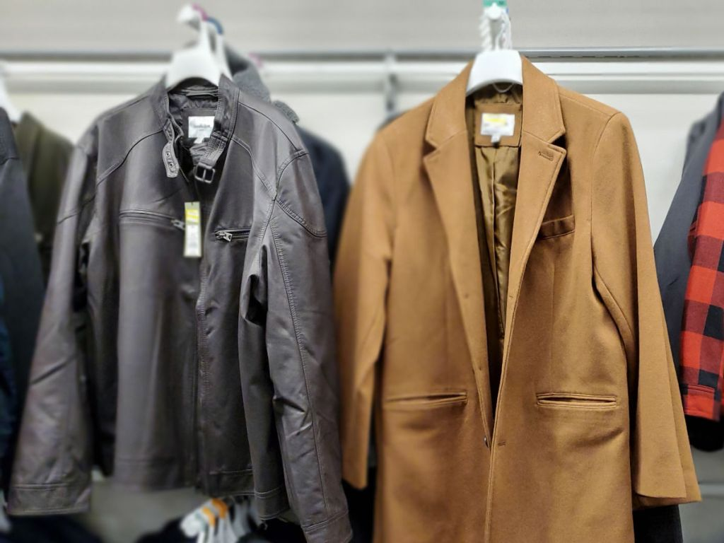 camel and black Men's Clearance Outerwear