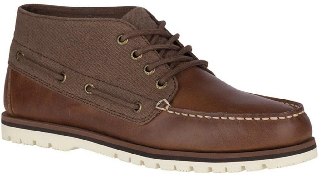 Men's boot in dark brown