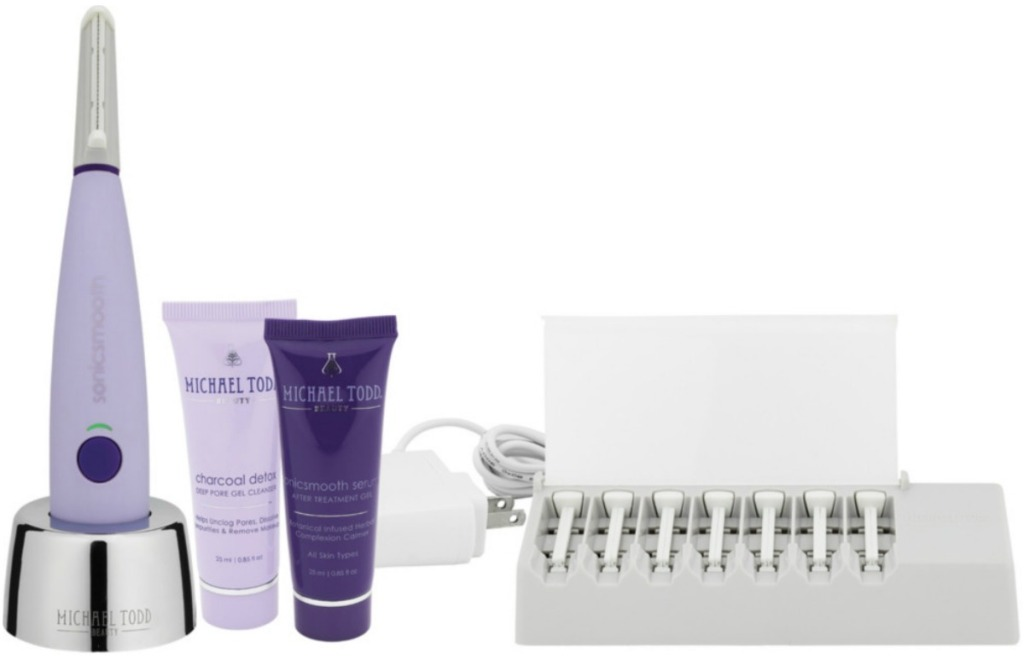 Michael Todd brand beauty tool with products