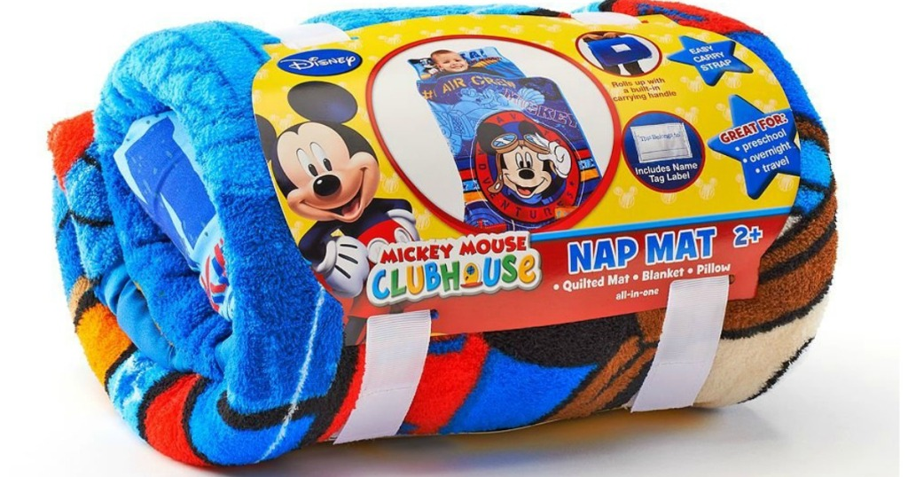 Mickey Mouse Clubhouse Nap Mat Rolled Up