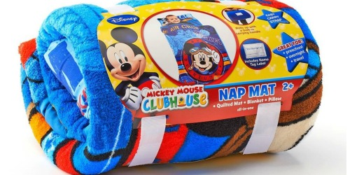 Toddler Nap Mats as Low as $9.26 | Disney, Cars & More