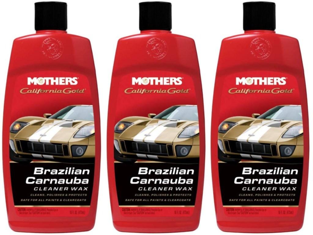 Mothers California Gold Brazilian Carnauba Liquid Wax, 16-Ounce Bottle