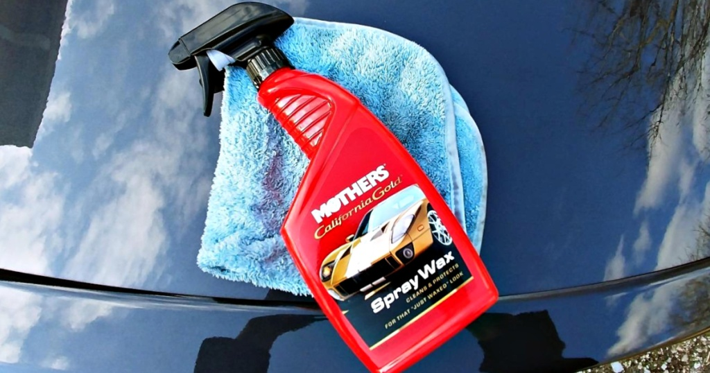 Mothers California Gold Spray Wax, 24-Ounce Bottle