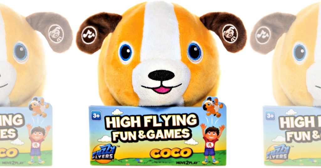 Move2Play Talkin' Animals: Coco the Interactive Plush Dog