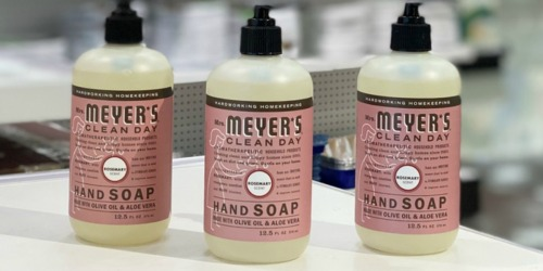 Mrs. Meyer's Clean Day Hand Soap 3-Count Only $7.85 Shipped or Less on Amazon