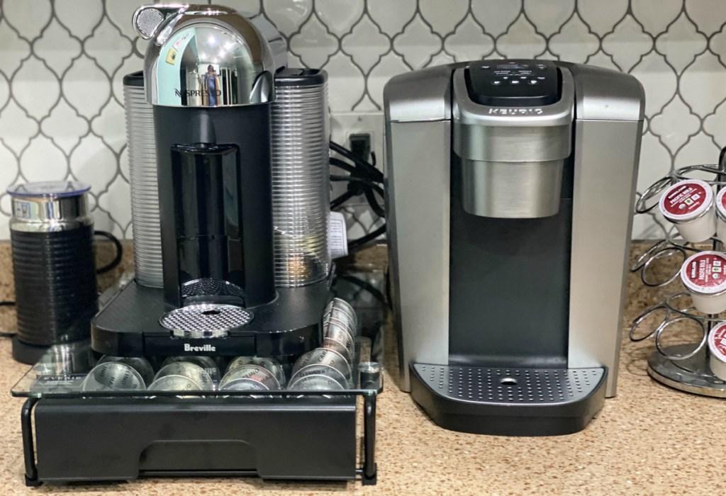 Nespresso vs Keurig brewers