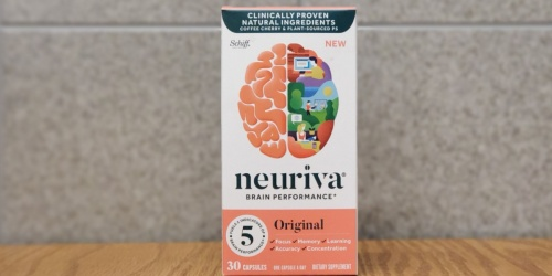 High Value $5/1 Neuriva Printable Coupon = 50% Off Brain Performance Capsules at Rite Aid