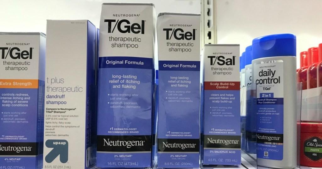 Neutrogena T-Gel Shampoos