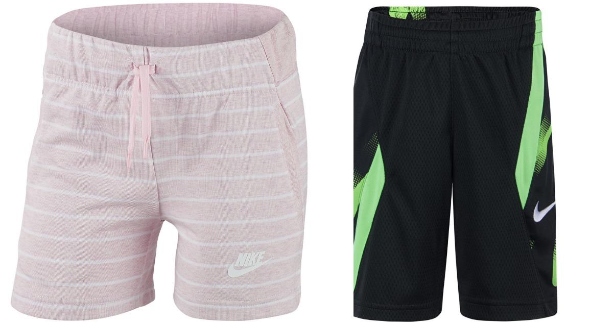 Nike Kids Shorts in pink or black