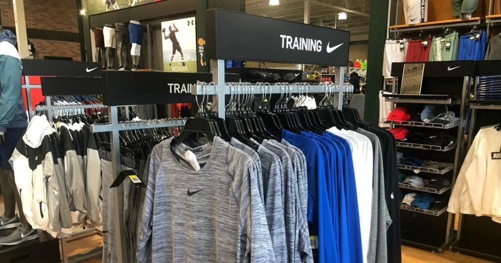 Nike Store Men's Department
