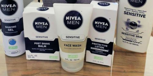 NIVEA Men Sensitive Face Wash Only $3 Shipped on Amazon