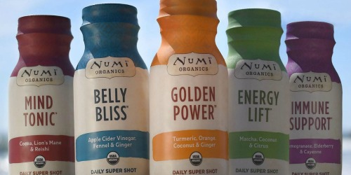 Free Numi Daily Super Shot for Select Cost Plus World Market Rewards Members