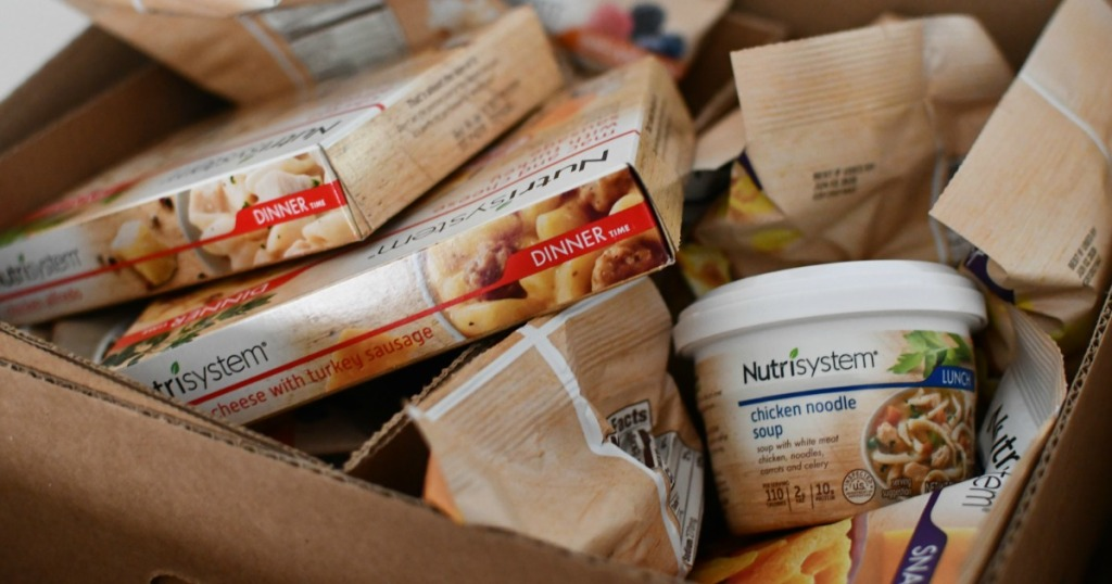 Nutrisystem soup and packages