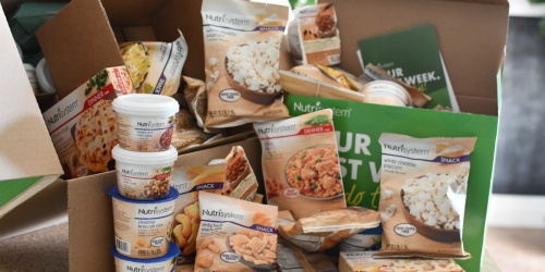 50% Off Nutrisystem Meal Plan + Free Cookies & Shakes AND Free Shipping