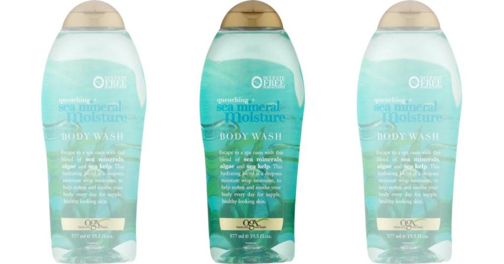 OGX sea mineral body wash