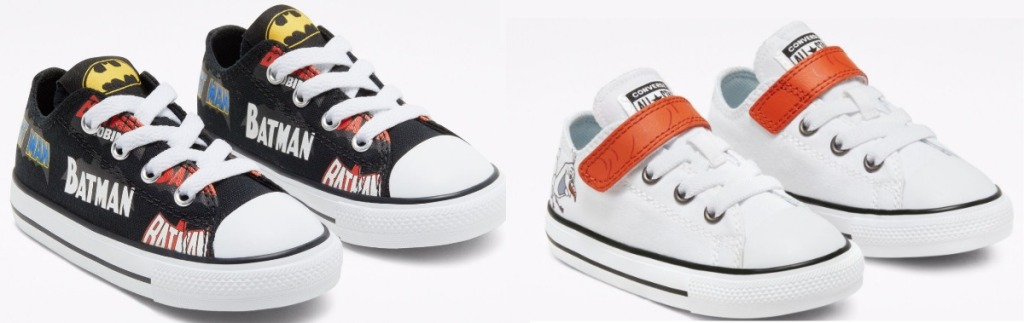 Olaf or Batman Converse Shoes