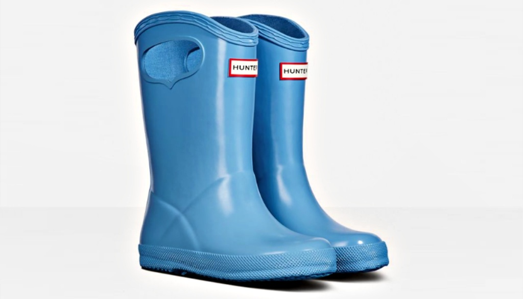 Original Kids First Classic Grab Handle Gloss Rain Boots