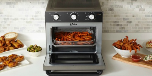 Oster Air Fryer Toaster Oven Only $69.99 Shipped at Best Buy (Regularly $180)