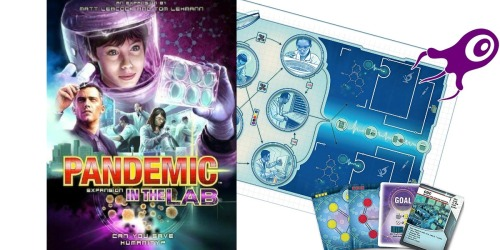 Pandemic Board Game In the Lab Expansion Set Only $17 (Regularly $40)